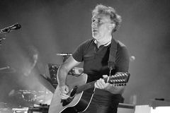 Yann Tiersen, French musician, performance at Barts Royalty Free Stock Photos