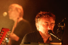 Yann Tiersen, French musician, performance at Barts stage Royalty Free Stock Photos