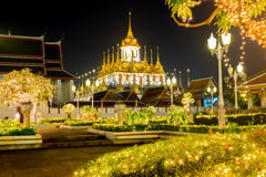 Yannawa temple in Thailand Royalty Free Stock Images