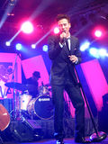 Yannick Bovy выполняя на джазовом фестивале Ява Стоковые Изображения RF