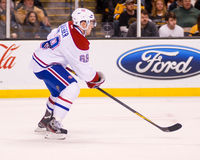 Yannick Weber Montreal Canadiens Royalty Free Stock Photos