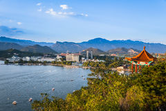 Yanqi lake park in beijing china Stock Photography