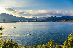Yanqi lake park in beijing china Royalty Free Stock Photography