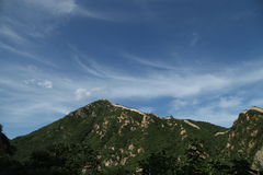 YanQing HuangHua Greatwall Royalty Free Stock Image