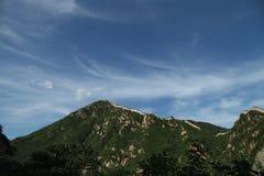 YanQing HuangHua Greatwall Royaltyfri Bild
