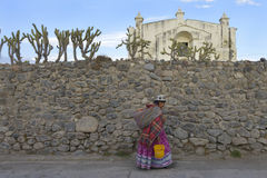 Yanque, Colca canyon, Peru Royalty Free Stock Photos