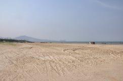 Yantai Kina strand Royaltyfri Bild