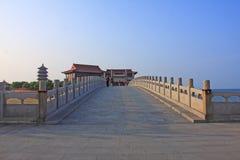 Yantai, Shandong Penglai acht Unsterbliche tragen Landschaft Lizenzfreie Stockfotos