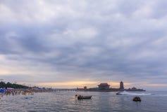 Yantai, Shandong Penglai acht Unsterbliche tragen Landschaft Stockfoto