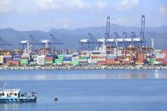 Yantian-Hafen Stockfotografie