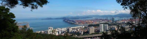 Yantian hamn Arkivbilder