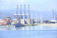 Yantian international container terminal Royalty Free Stock Images