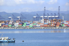 Yantian port Stock Photography
