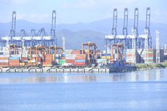 Yantian port Stock Photos