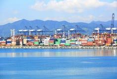 Yantian port Stock Photo