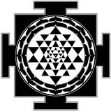 yantra de shree Photo libre de droits