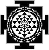 yantra shree Στοκ φωτογραφία με δικαίωμα ελεύθερης χρήσης
