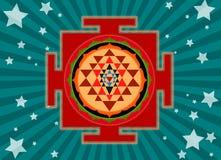 yantra shree Стоковая Фотография