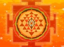 yantra shree Fotografia Royalty Free