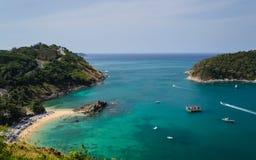 Yanui bay, phuket, thailand Royalty Free Stock Photos
