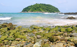 Yanui beach, Phuket Thailand Royalty Free Stock Images