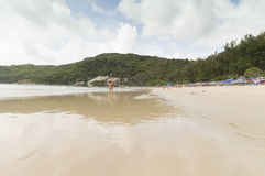Yanui beach Stock Photos