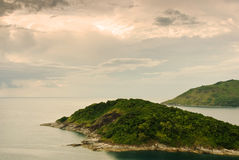 Yanui Beach is a quiet little cove located Royalty Free Stock Images