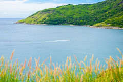 Yanui Beach from sunset viewpoint, Phuket, Thailand Royalty Free Stock Photos