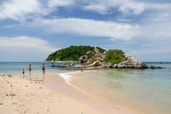 Yanui plaża w Phuket, Thailand fotografia stock