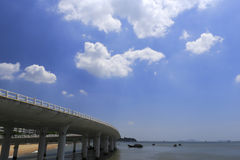 Yanwu bridge of amoy city, china Royalty Free Stock Images