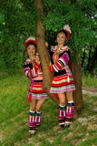 The yao girls 2. The yao girls, good, beautiful and moving Royalty Free Stock Photo
