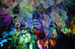 Yao lin Xian Jing stalactites Cave,China Stock Photos