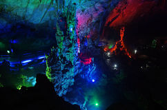 Yao lin Xian Jing stalactites Cave,China Stock Images