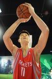 Yao Ming Basketball Rockets Royalty Free Stock Photos