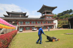 Yaoquansi temple in Jeju Stock Images