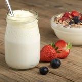 yaourt photo stock