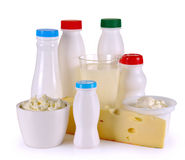 Yaourt de fromage de lait Image libre de droits