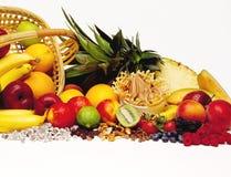 Yaourt surgelé avec le fruit Images stock