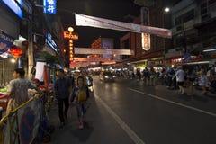 YAOWARAT CHINATOWN BANGKOK TAILANDIA Fotografía de archivo