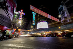 YAOWARAT CHINATOWN BANGKOK TAILANDIA Fotos de archivo