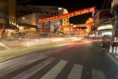 YAOWARAT CHINATOWN BANGKOK TAJLANDIA Fotografia Stock