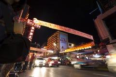 YAOWARAT CHINATOWN BANGKOK TAJLANDIA Zdjęcie Stock