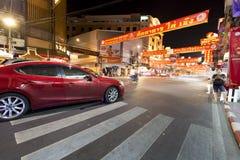 YAOWARAT CHINATOWN BANGKOK THAILAND Stock Fotografie