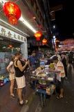 YAOWARAT CHINATOWN BANGKOK THAILAND Stock Afbeeldingen