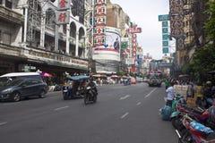 Yaowarat Road Royalty Free Stock Image