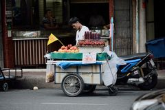 Yaowaratweg Royalty-vrije Stock Fotografie
