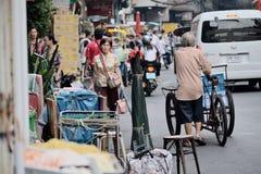 Yaowaratweg Stock Foto