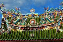 Yap Kongsi Chinese Temple, Georgetown, Malaysia. Royalty Free Stock Image
