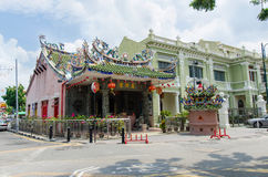 Yap Kongsi Temple which is located in Armenian Street,Penang Stock Photo