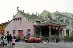 Yap temple Stock Photo